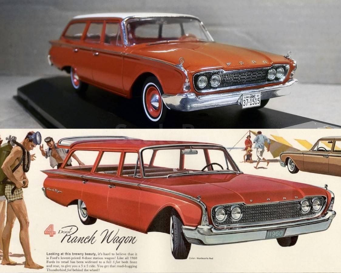 ford ranch station wagon 1960 rh scalebay ru