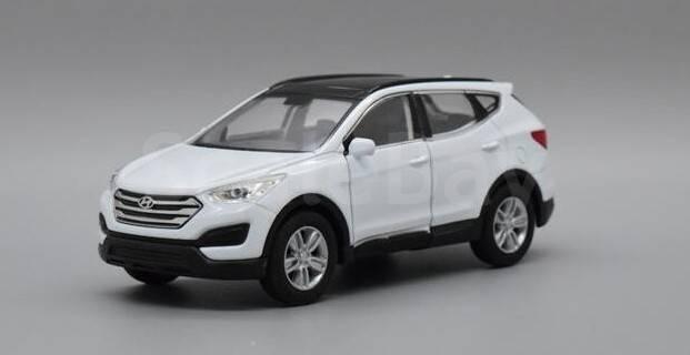 масштабные модели автомобилей hyundai santa fe