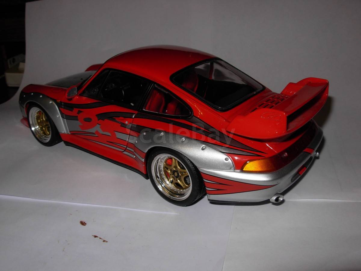 1 18 porsche 911 gt2 993 street racing ut models. Black Bedroom Furniture Sets. Home Design Ideas