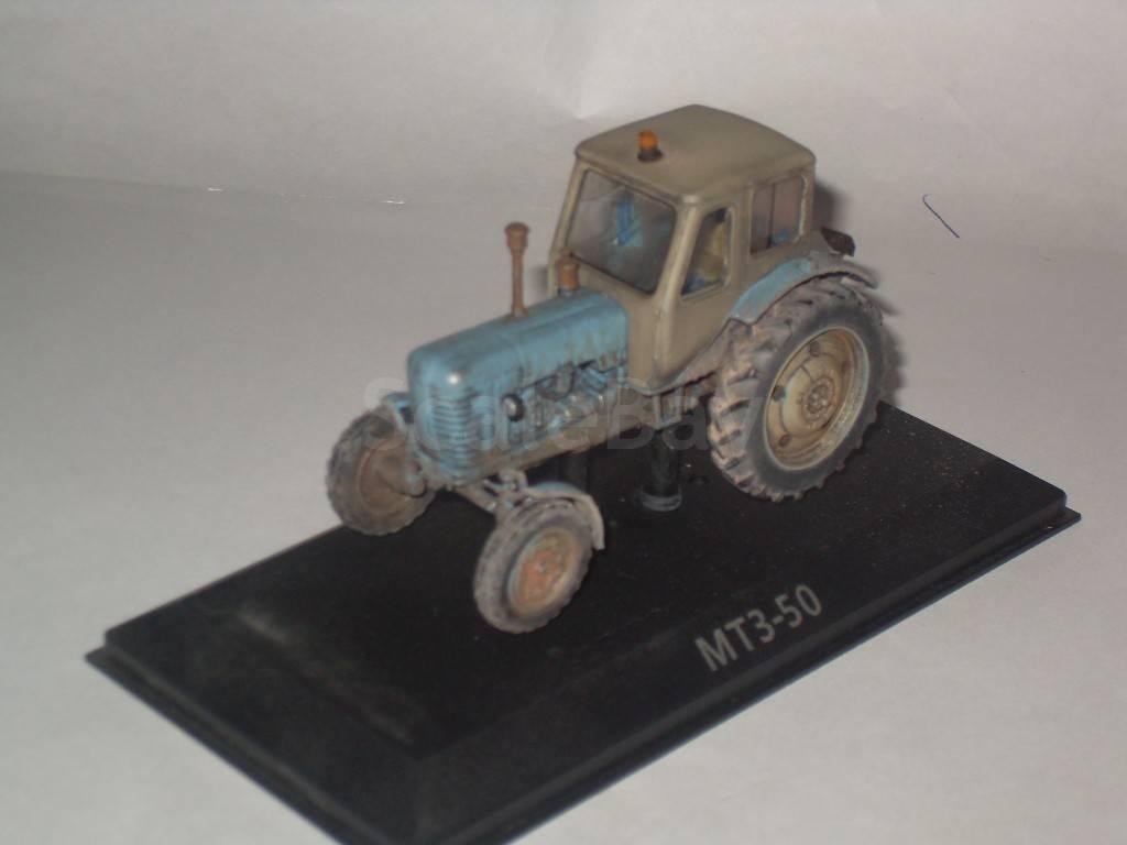 Купить недорого Трактор МТЗ-50 (Беларус) Тракторы №1 1:43.