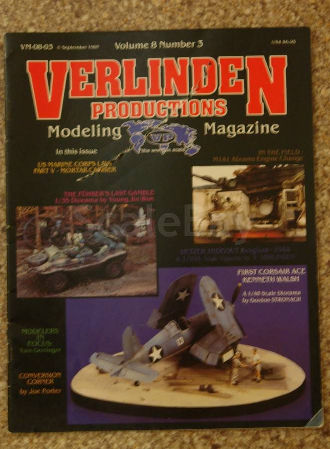 VERLINDEN VM-08-03 Modeling Magazine Volume 8 Number 3