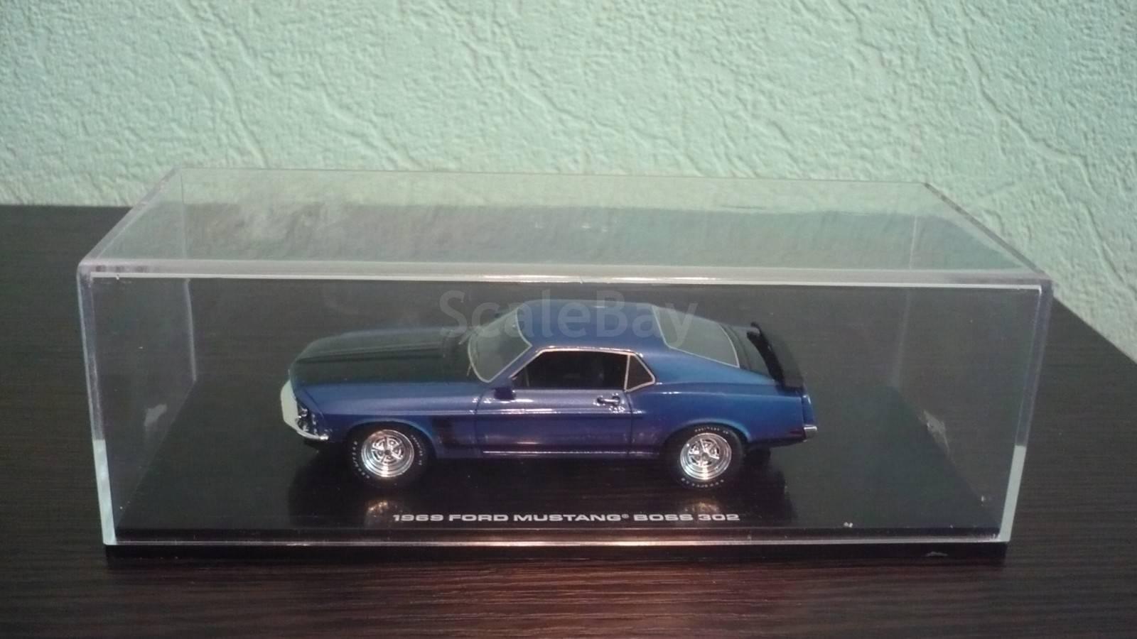 модель 1/43 ford mustang boss