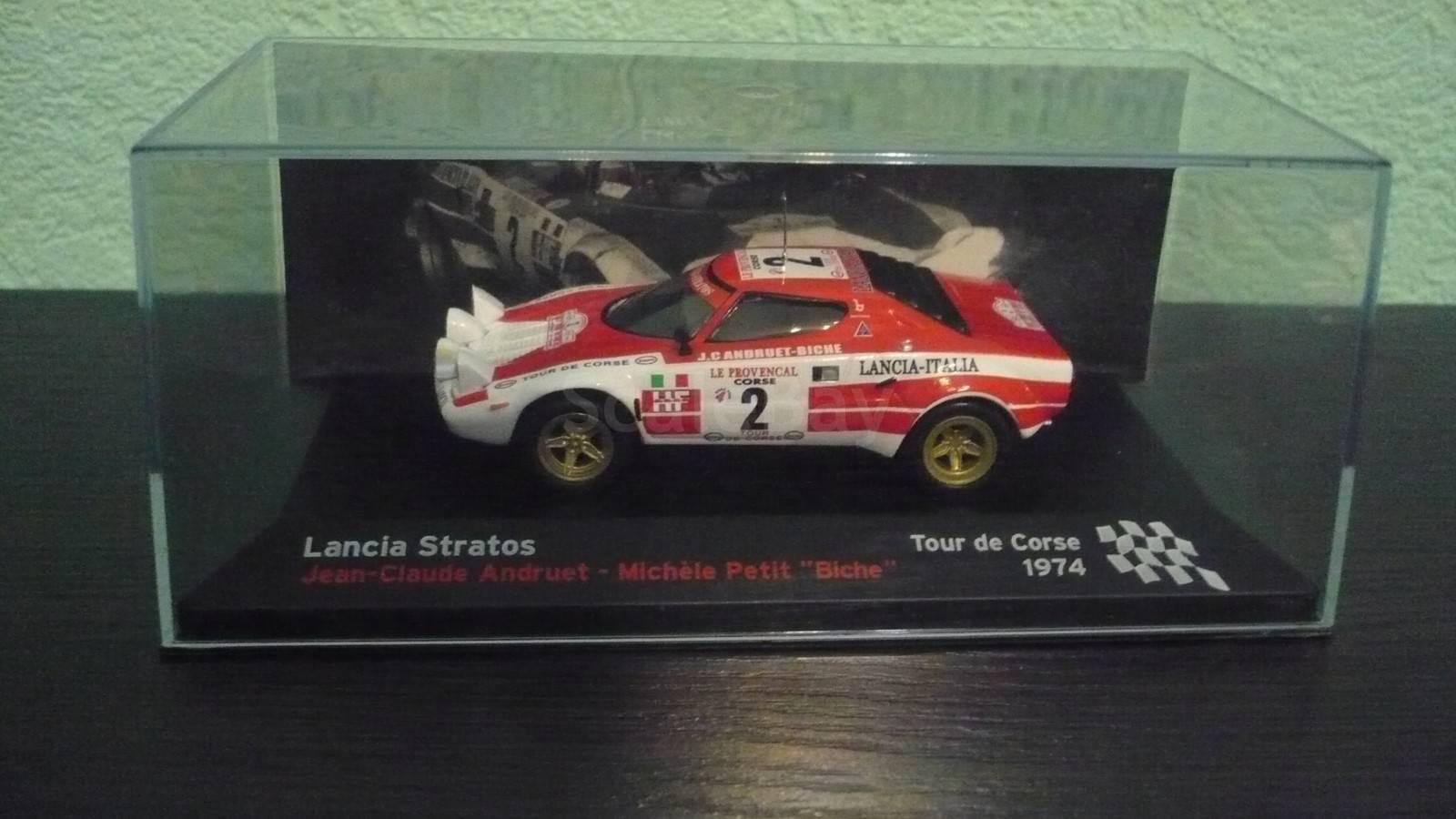 lancia stratos 1974 | Аукцион масштабных и сборных моделей