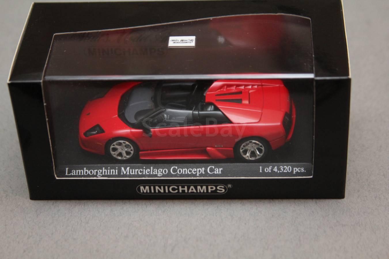 Lamborghini Murcielago Concept Aukcion Masshtabnyh I Sbornyh Modelej