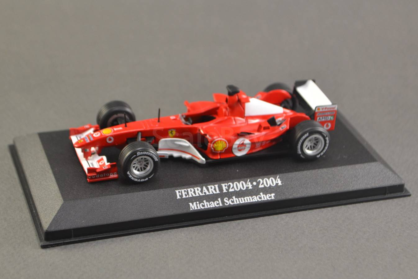 S Rublya 1 43 Michael Schumacher Ferrari F2004 1 World