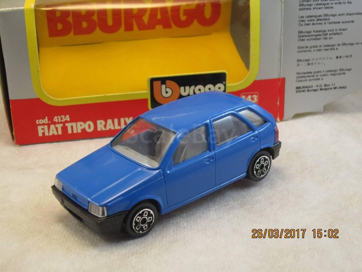 Fiat Tipo Rally 1 43 Bburago Made In Italy Aukcion Masshtabnyh I