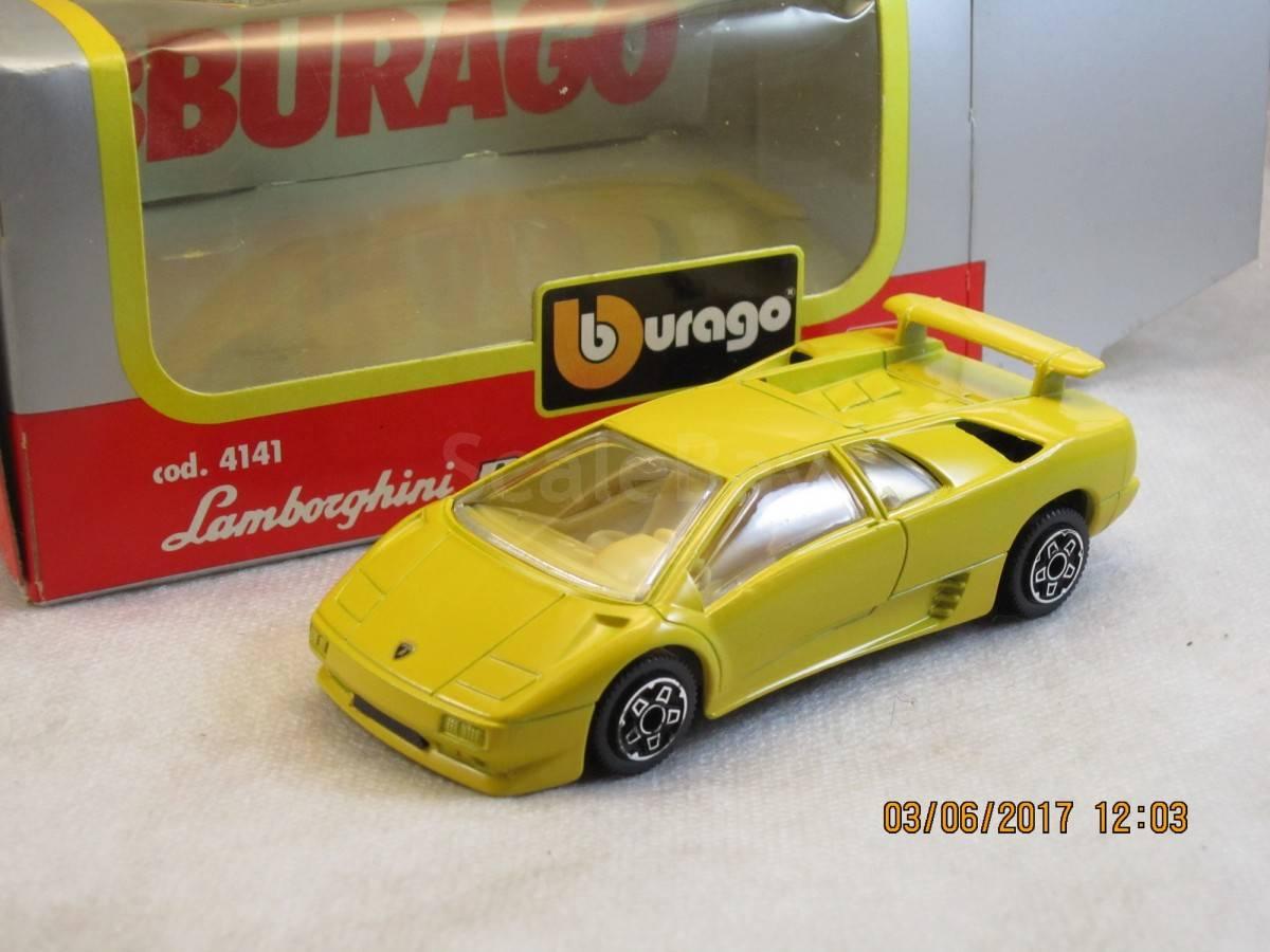 Lamborghini Diablo 1 43 Bburago Made In Italy Aukcion Masshtabnyh I
