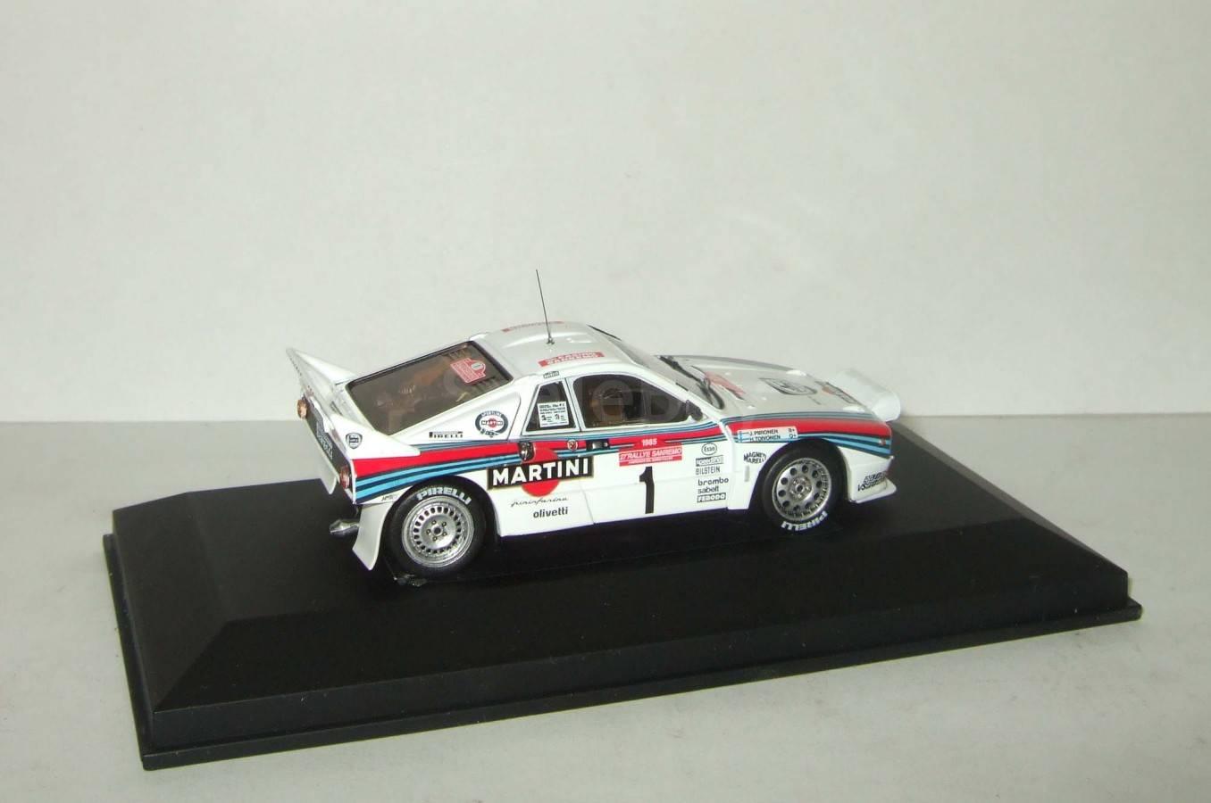 lancia 037 № 1 rally sanremo 1985 hpi racing 1:43 958 | Аукцион