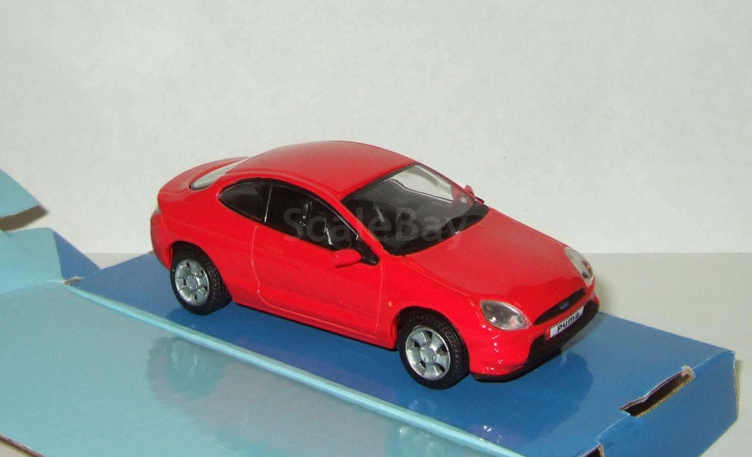 a7c0312899f Форд Ford Puma 1998 Cararama 1:43 Ранний