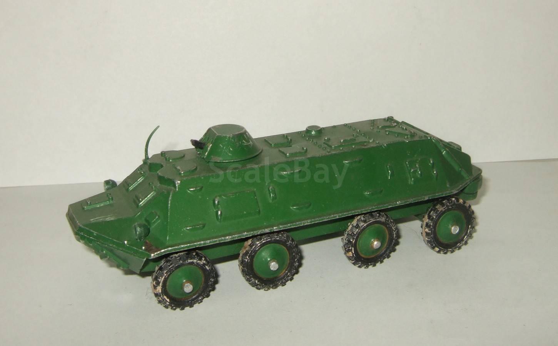 БТР 60 ПБ Тип 3 завод Арсенал Сделано в СССР 1:43 | Аукцион масштабных и сборных моделей