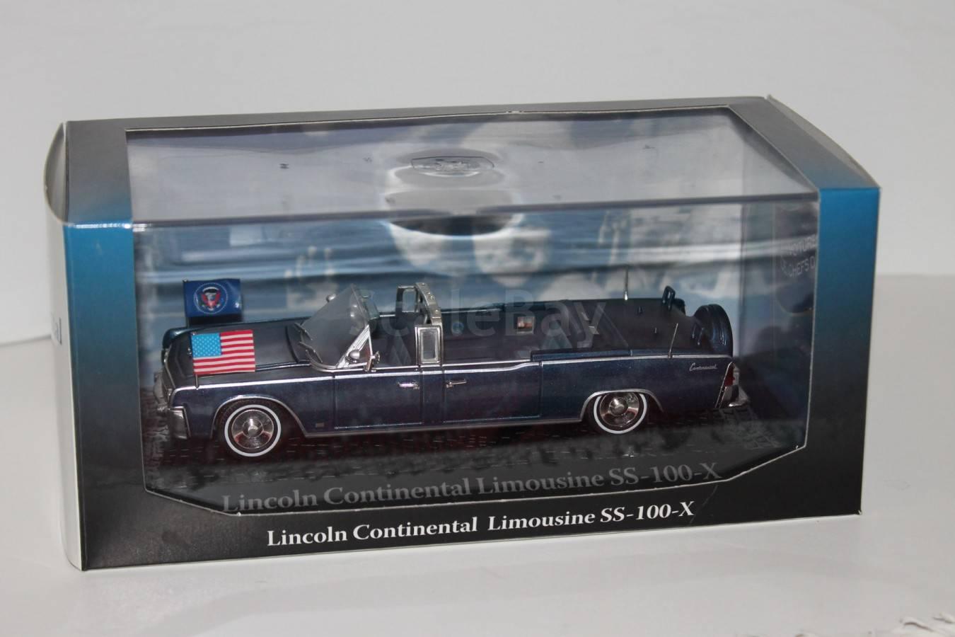 lincoln continental ss 100 x jfk 1 43 atlas. Black Bedroom Furniture Sets. Home Design Ideas