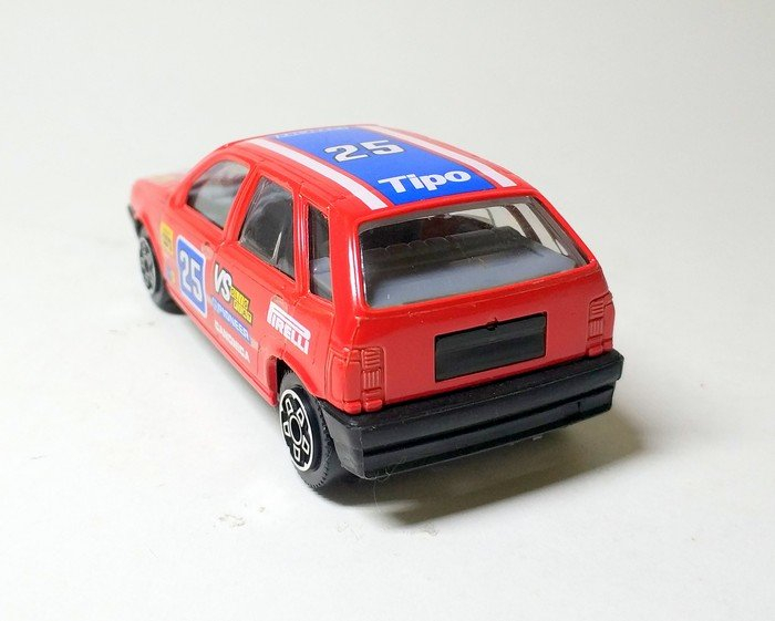 Fiat Tipo Rally Krasnyj Fiat Burago B 3014 Aukcion Masshtabnyh I