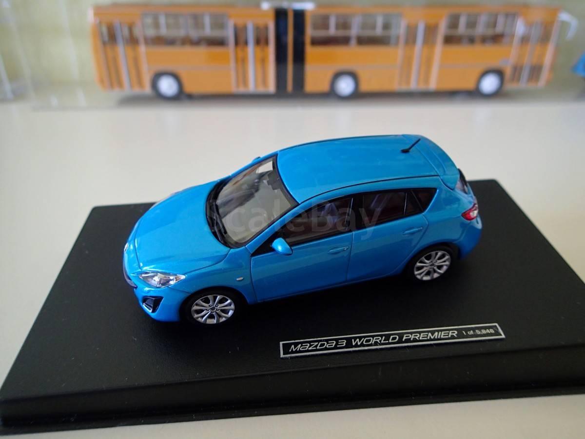 коллекционные модели автомобилей 1 43 mazda 3