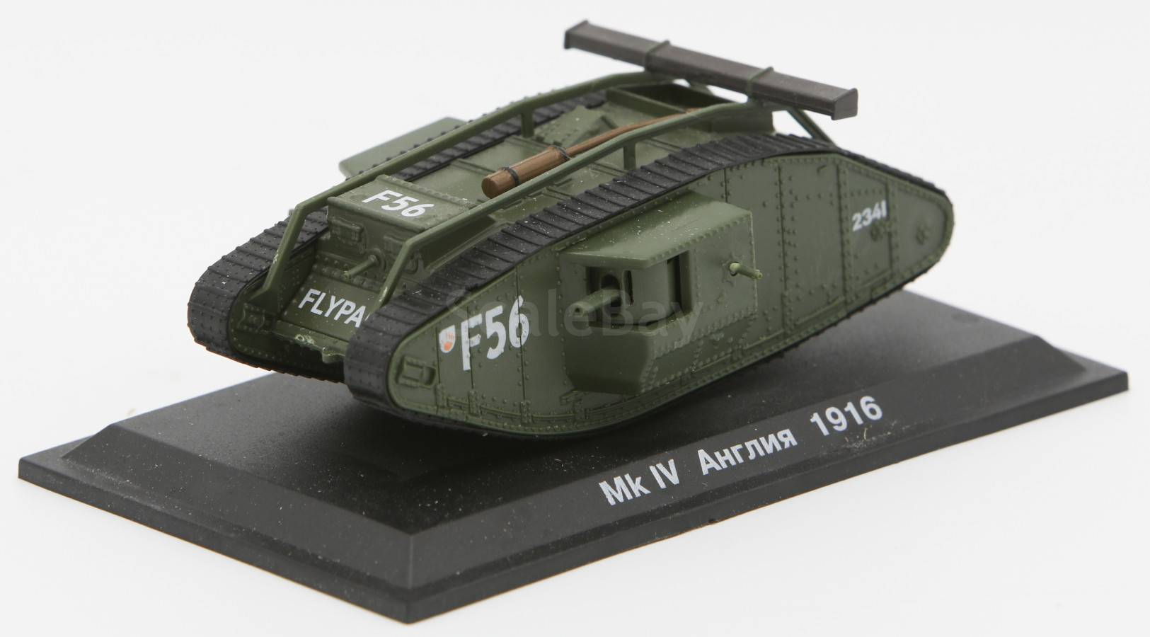 1//72 Captured Mark Mk IV Male British Heavy Tank WWI 1916 Diecast Model New